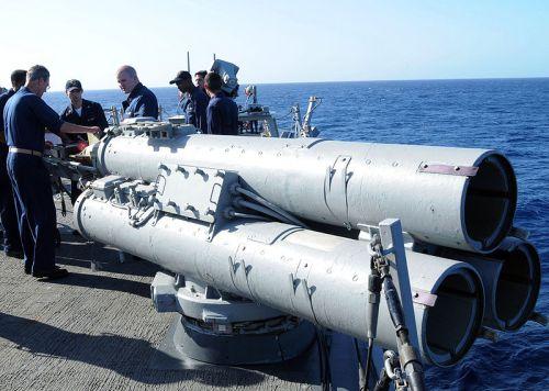 Peluncur Mark 32, sebagai wahana peluncur torpedo MK46