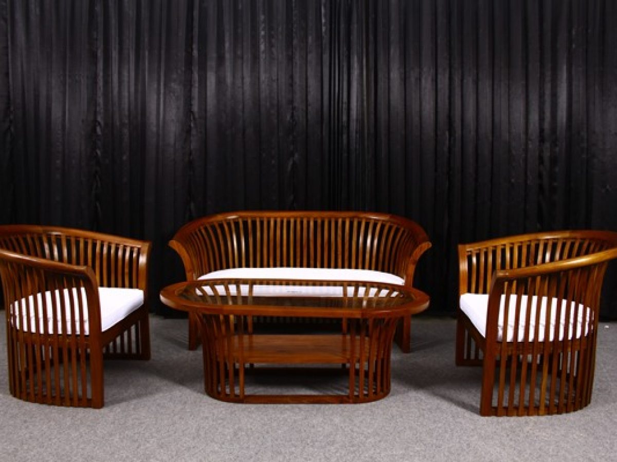 Tea Sofa Set Indonesian Modern And Contemporary Furniture Indoor Outdoor Furniture