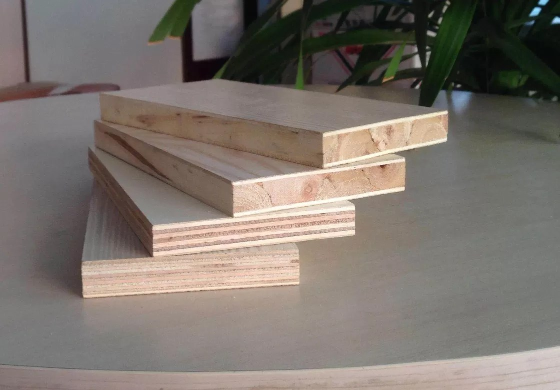 Ukuran Blockboard Fancy Papan Blok Komersial Kekuatan Tinggi Bending Block Board