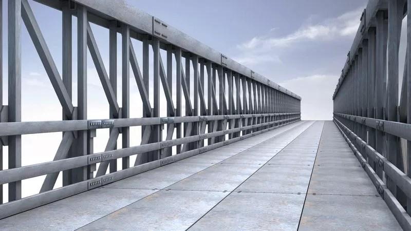 Single Lane Modular Steel Bridge