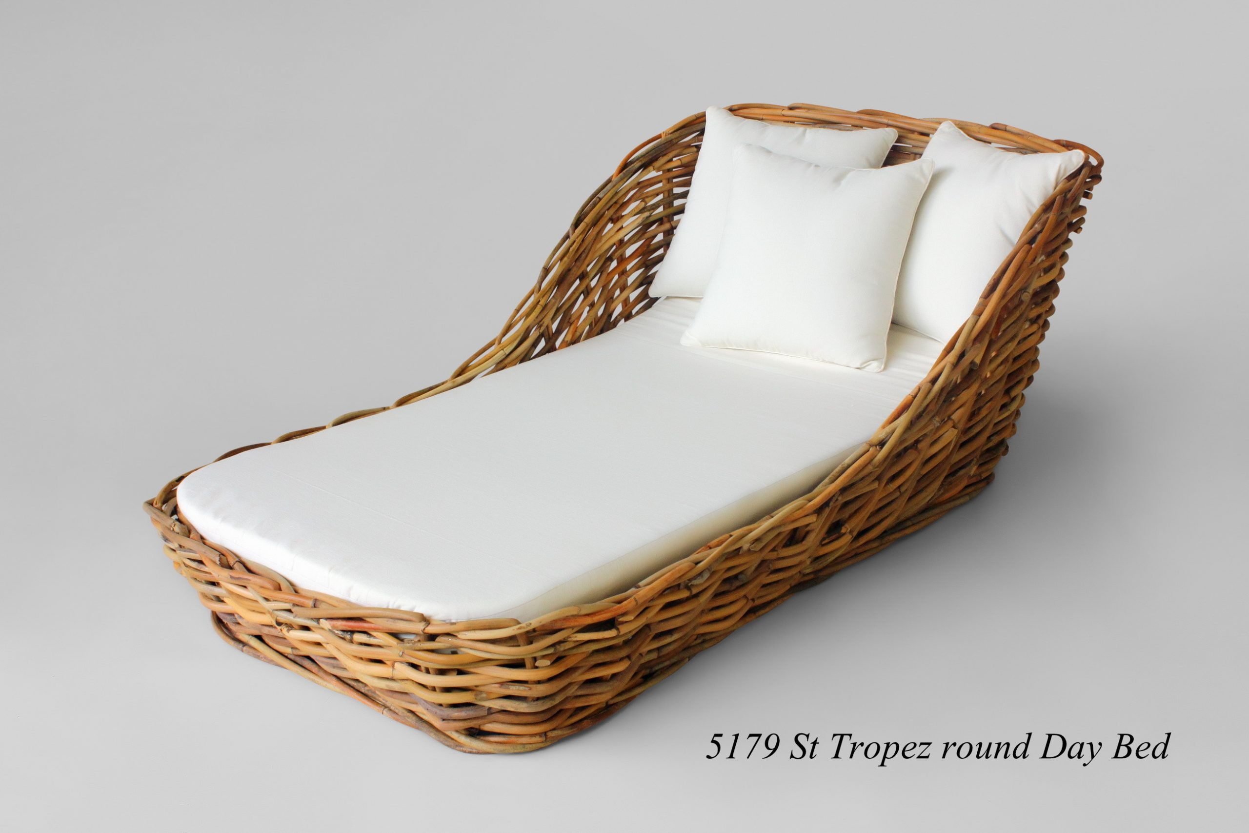 St Tropez Cane Day Bed Indonesia Rattan Rattan Furniture Wholesale Wicker Furniture