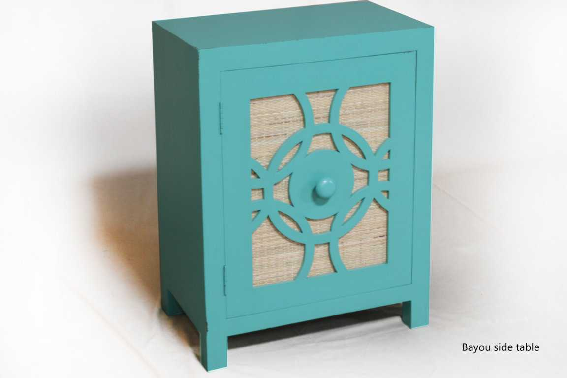 Couchtisch Tatia Bayou Side Table Painted | Indonesia Teak Wood Furniture Manufacturer