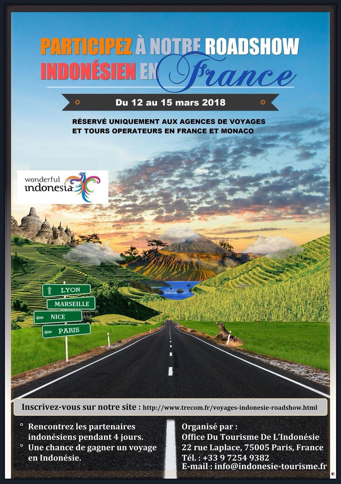 Office Du Tourisme Bali L Indonésie Fait Son Roadshow En France 12 15 Mars 2018 Office