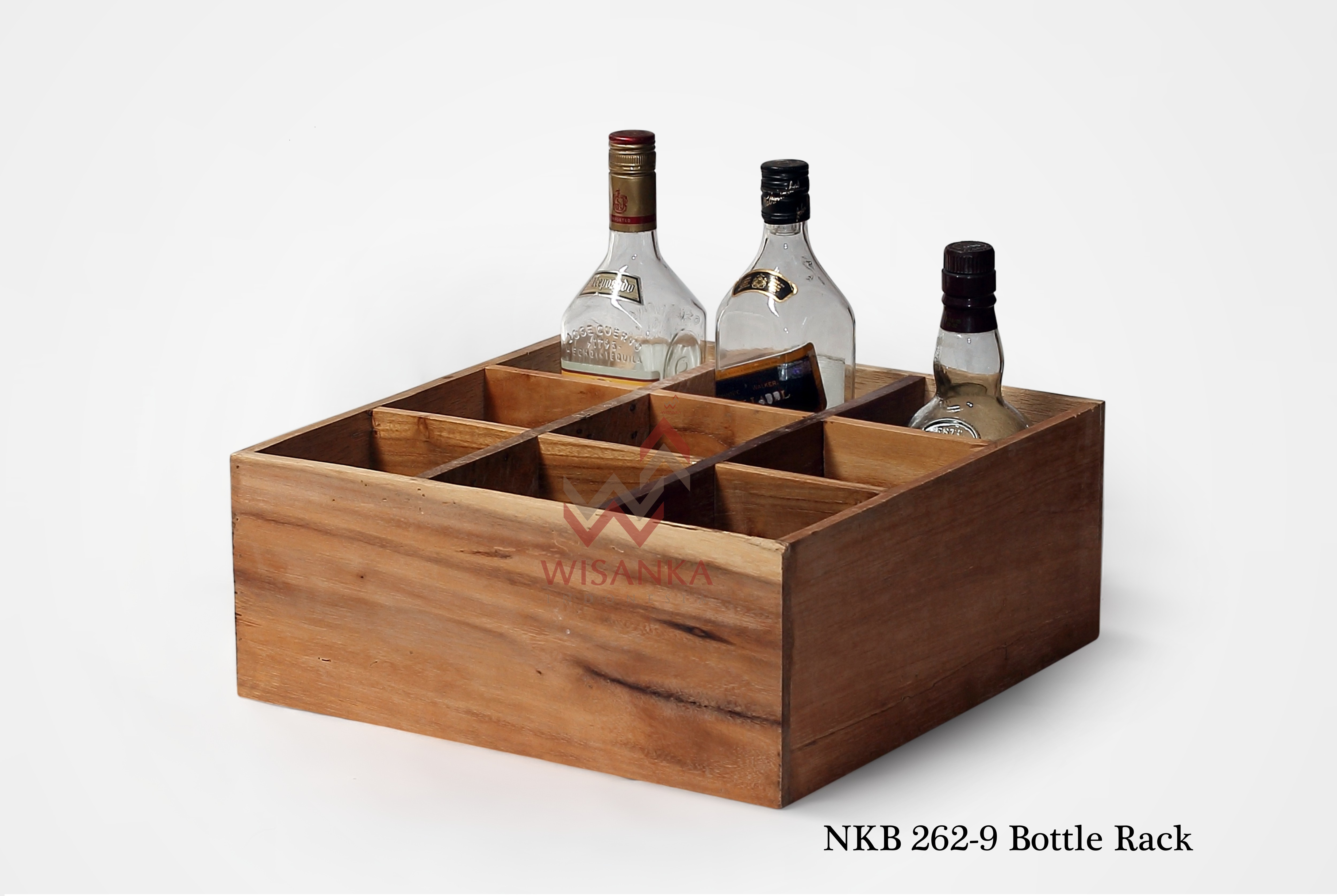 Wooden Bottle Rack Wooden Bottle Rack Indoor Mahogany Furniture Indonesia