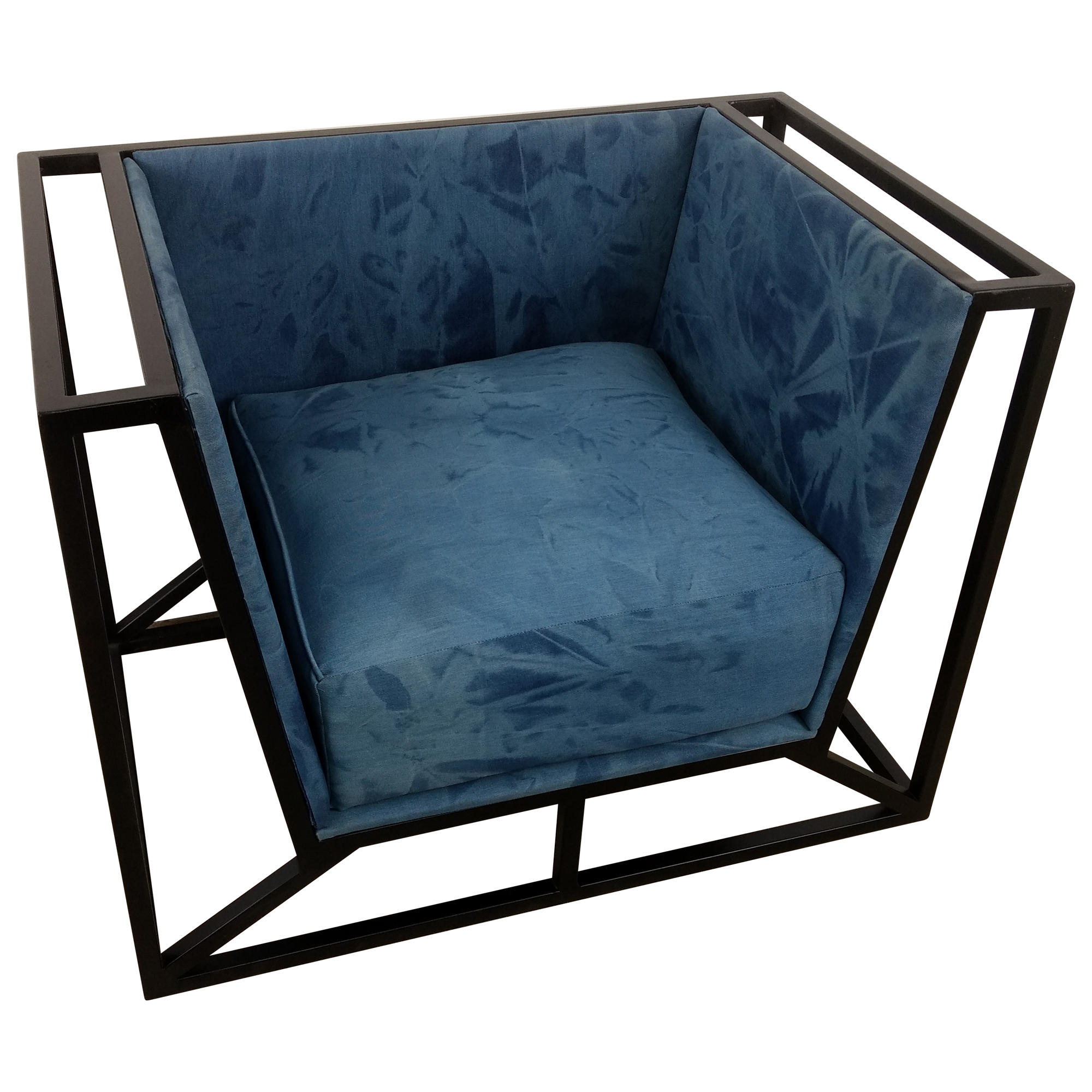 Industrie Sessel Sessel Clubsessel Lounge Relaxsessel Canva Designer Armcair Loft Industrie Jeans