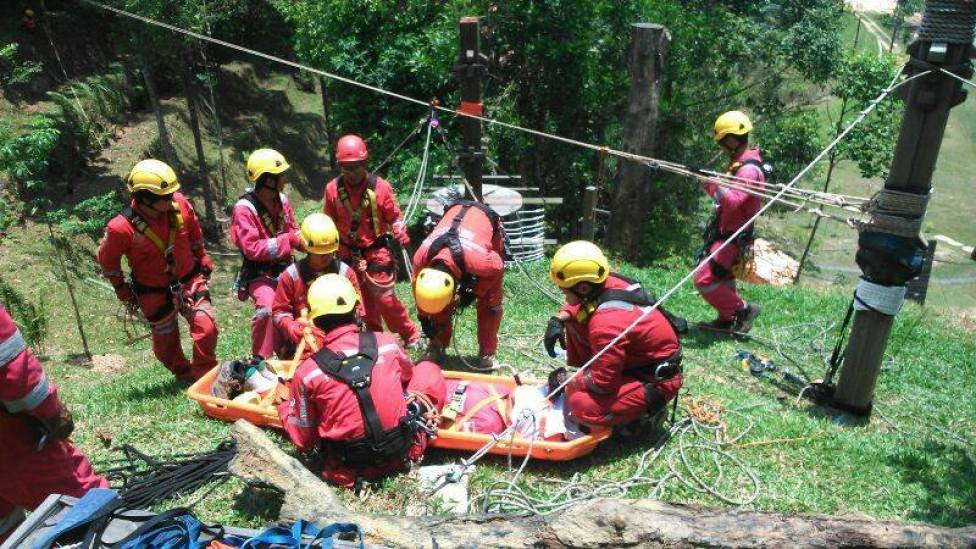 High Angle Rescue Training 4