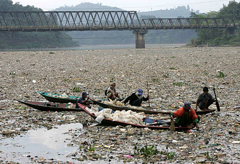 The Citarum West Java Dirtiest River In The World
