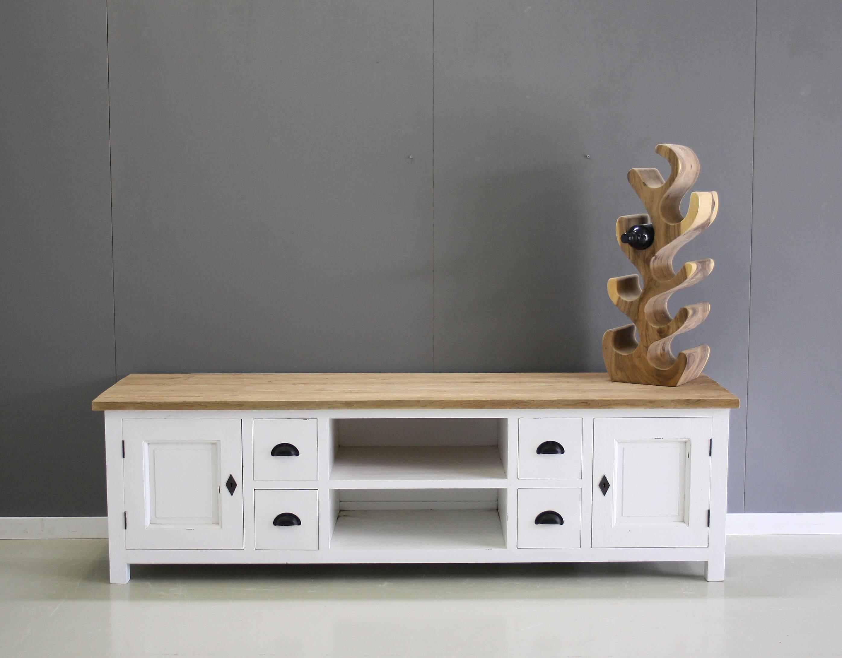 Tv Kast Teak : Meubel teak tv meubel metal teak collectie cabinet search items