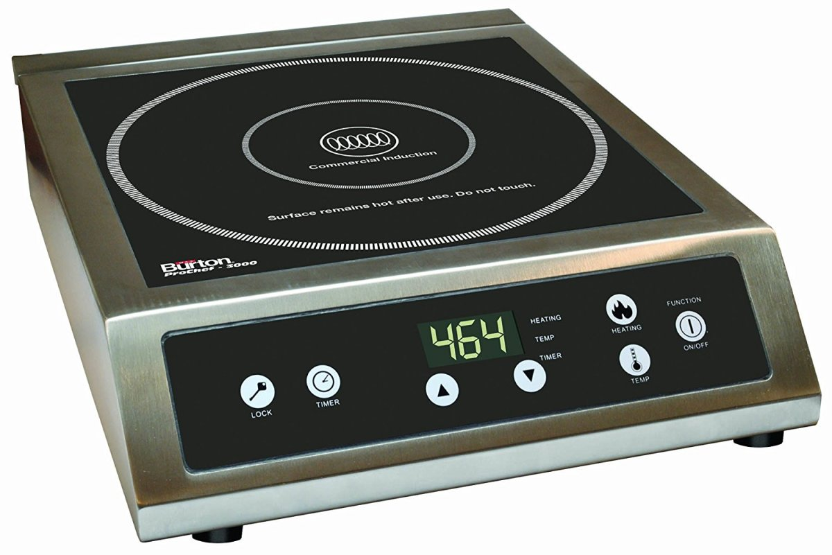 Induction Cooktops Reviews Max Burton Prochef 3000w Induction Cooktop Review