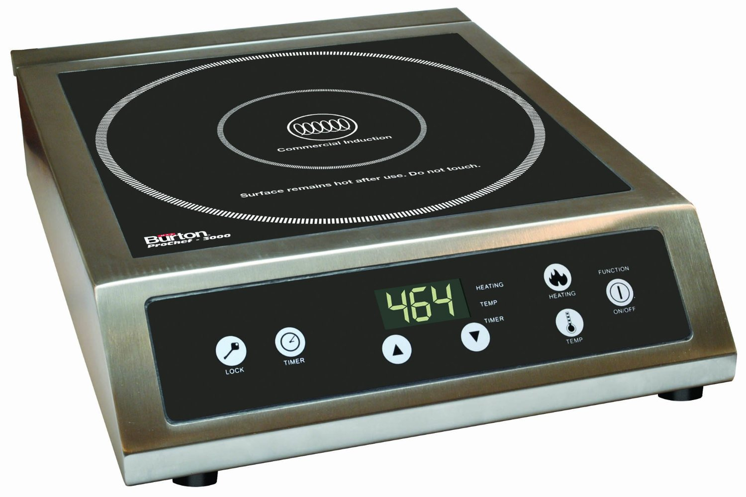 Induction Cooktop True Induction S2f3 Counter Inset Double Burner Induction