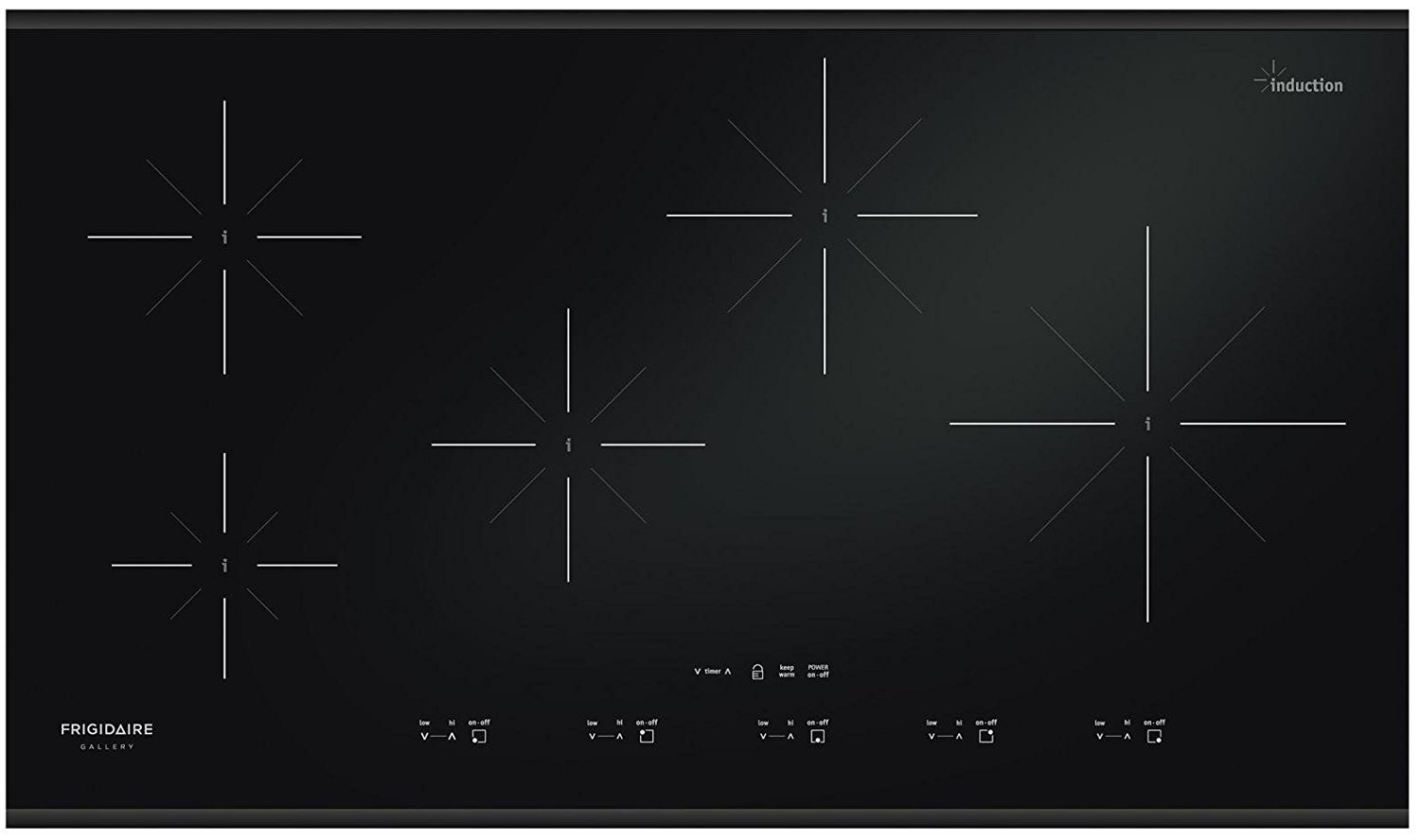 Induction Cooktops Reviews Frigidaire Induction Cooktop Range Models Ratings