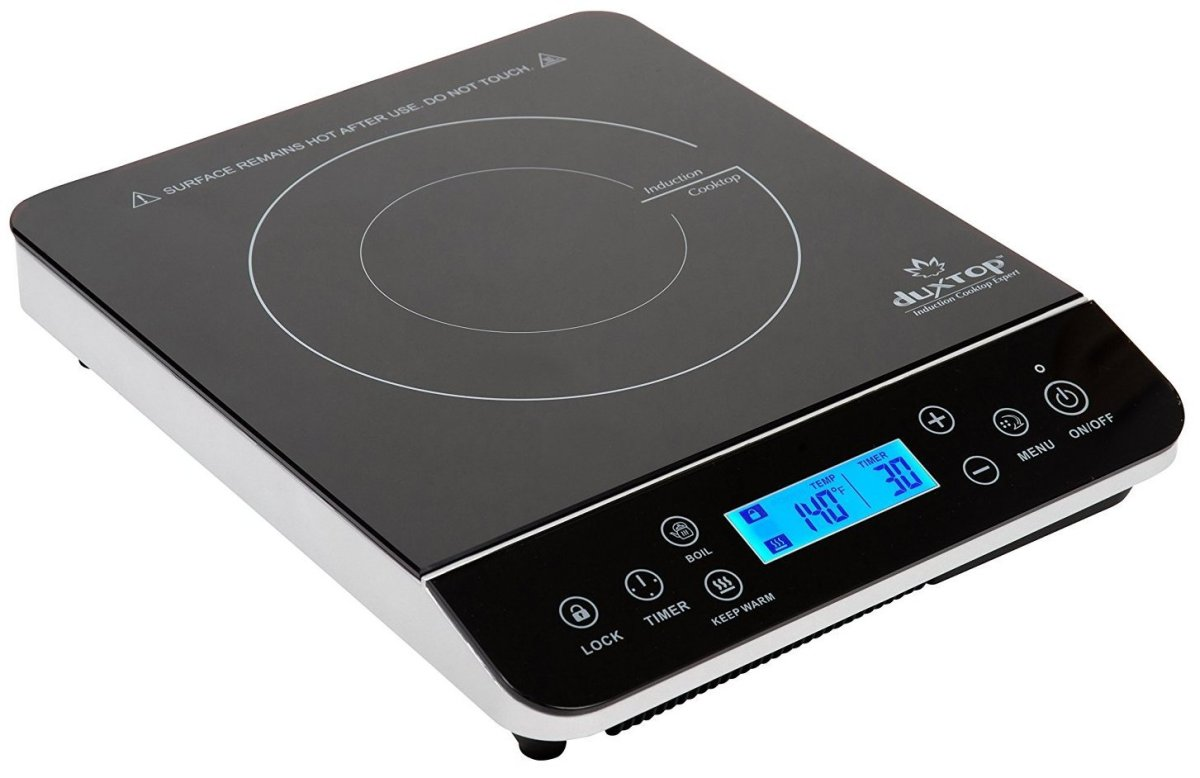 Kuche Single Stove Induction Cooktop Duxtop Induction Cooktops Simple To Use Feature Rich