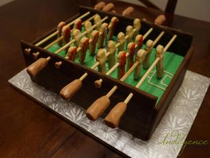 Semi-Functional Foosball Table