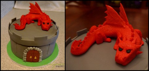 Dungeons & Dragons Cake