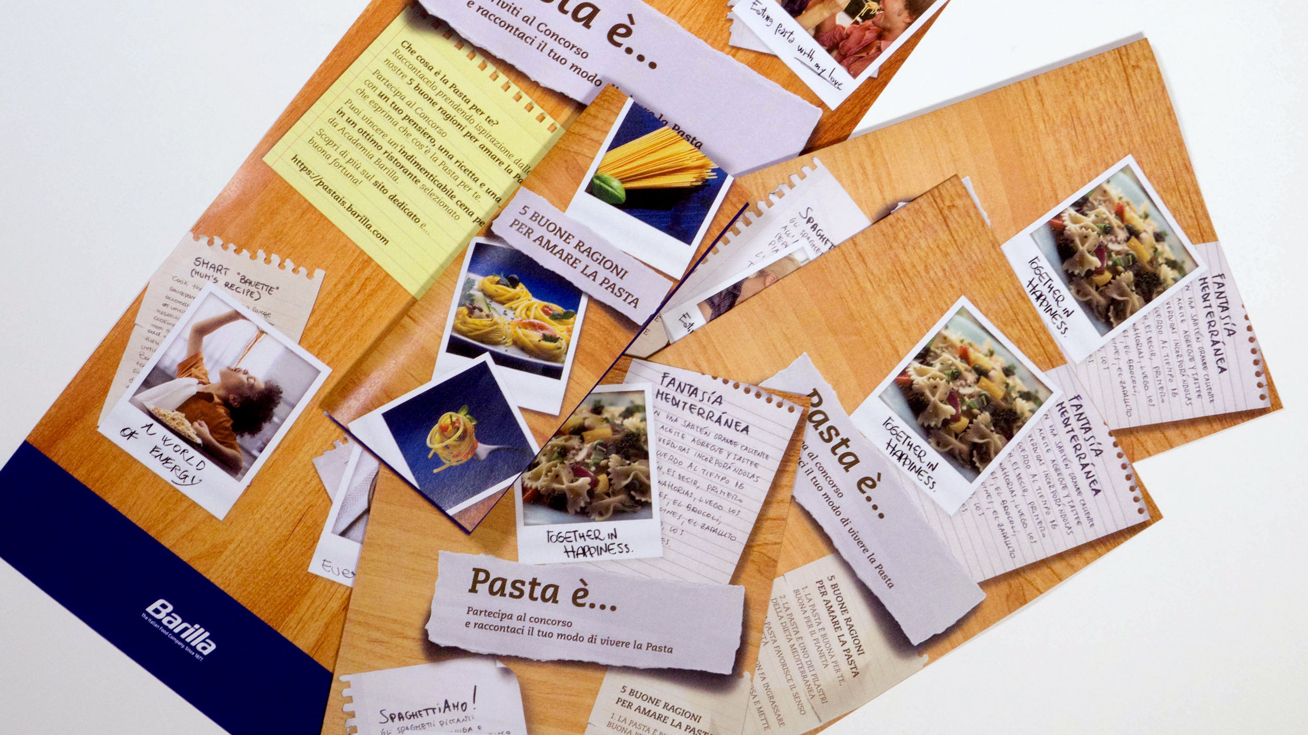 Cucina Italiana Barilla Barilla Lancia Il Contest Creativo Pasta Is Industree