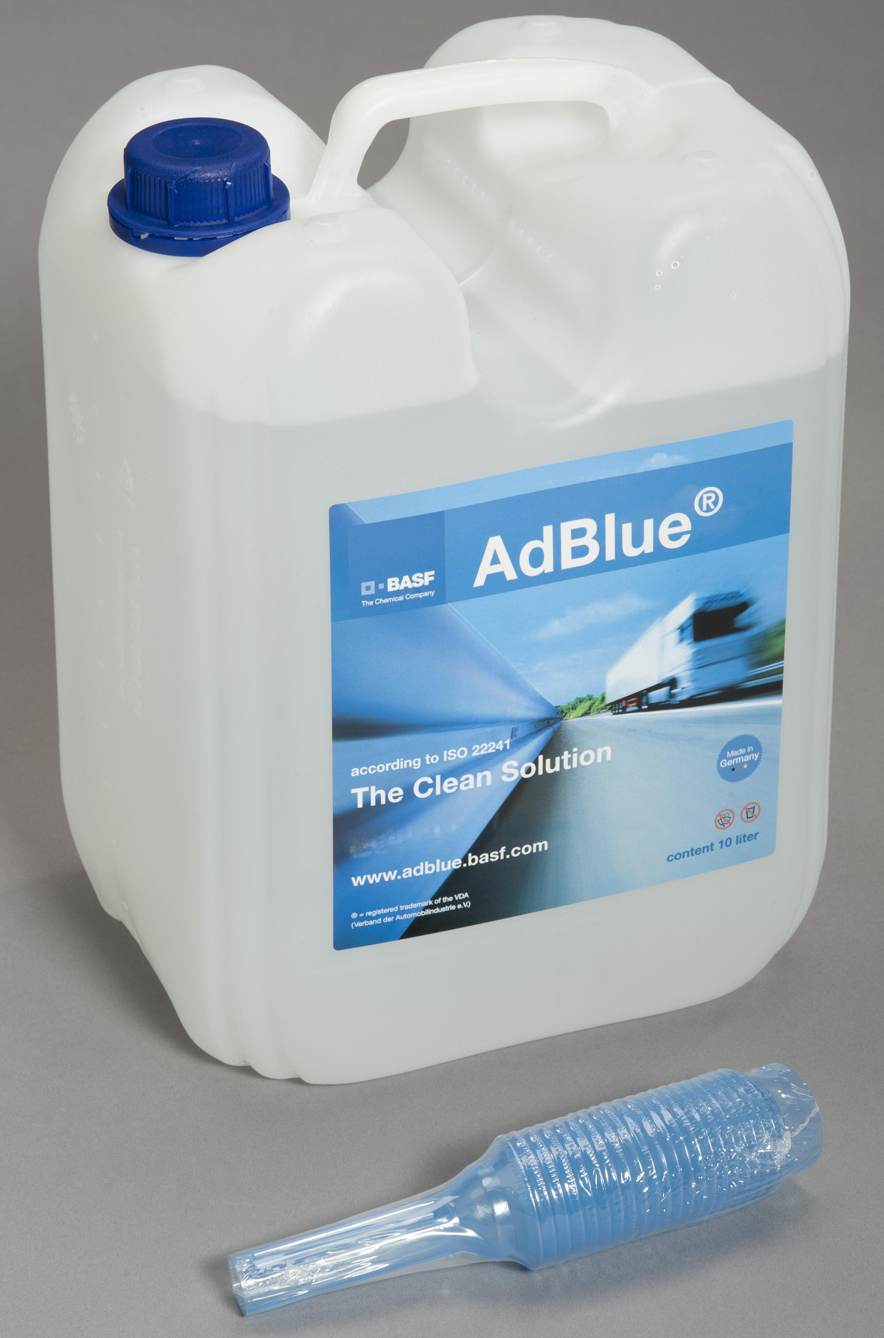 Ad Blue Adblue Tank From 10 Lt Industrial Cloud