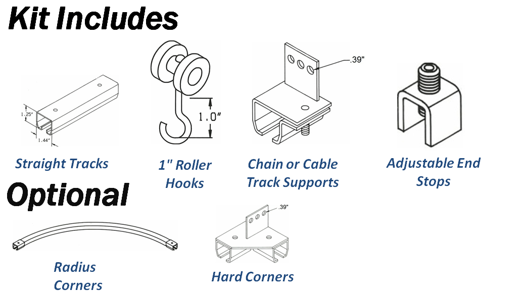 commercial building wiring wire track