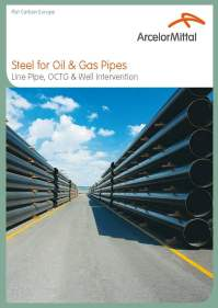 Steel for Oil & Gas Pipes - Industry