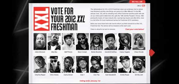 2012 XXL Freshman Class Finalist industry314