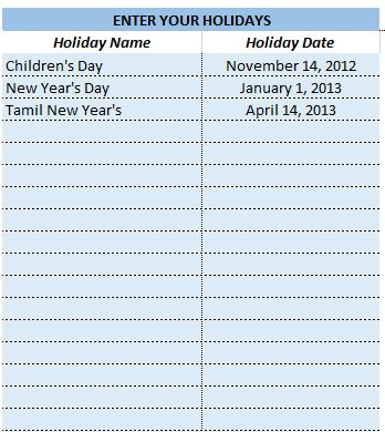 School Attendance Register and Report - Free Excel Template - v2 - attendance report template