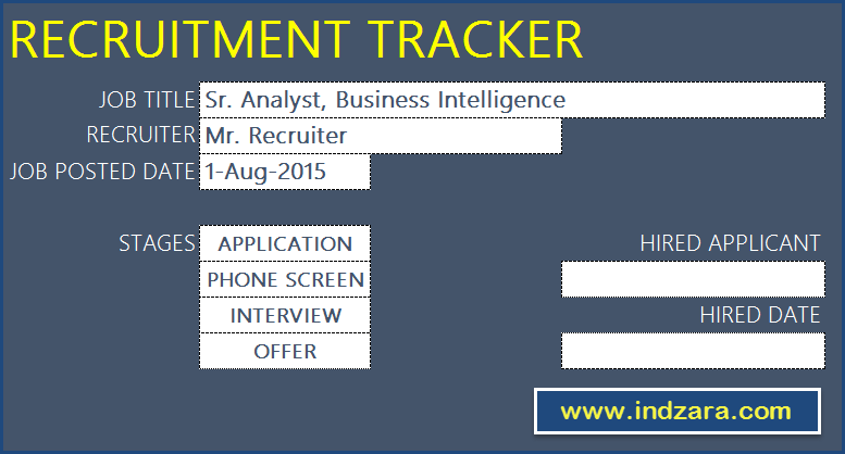 Ucl Human Resources Recruitment And Selection Policy Recruitment Tracker Spreadsheet Free Hr Excel Template