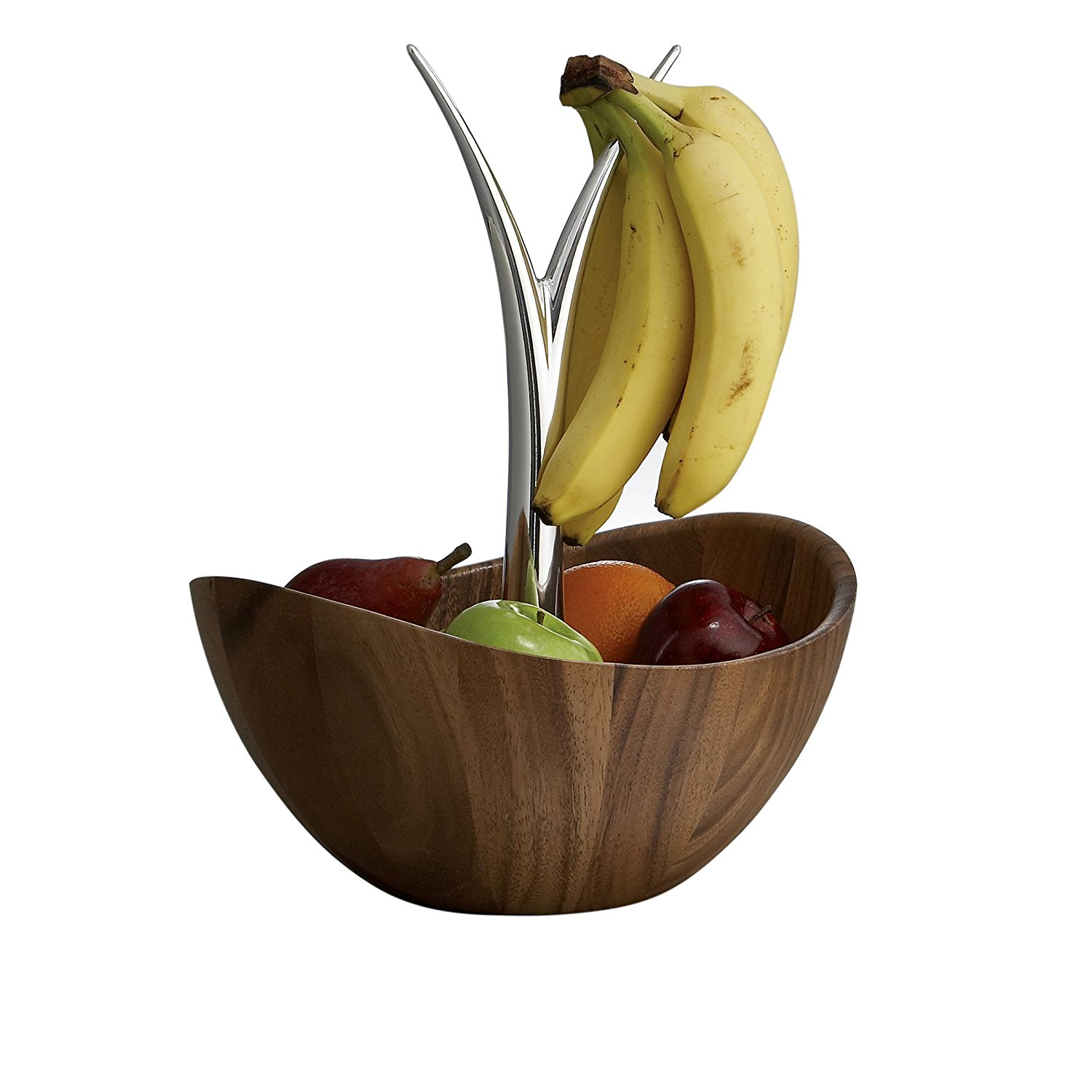 Metal Fruit Bowl Nambè Fruit Tree Bowl Wood With Metal Alloy Best Offer