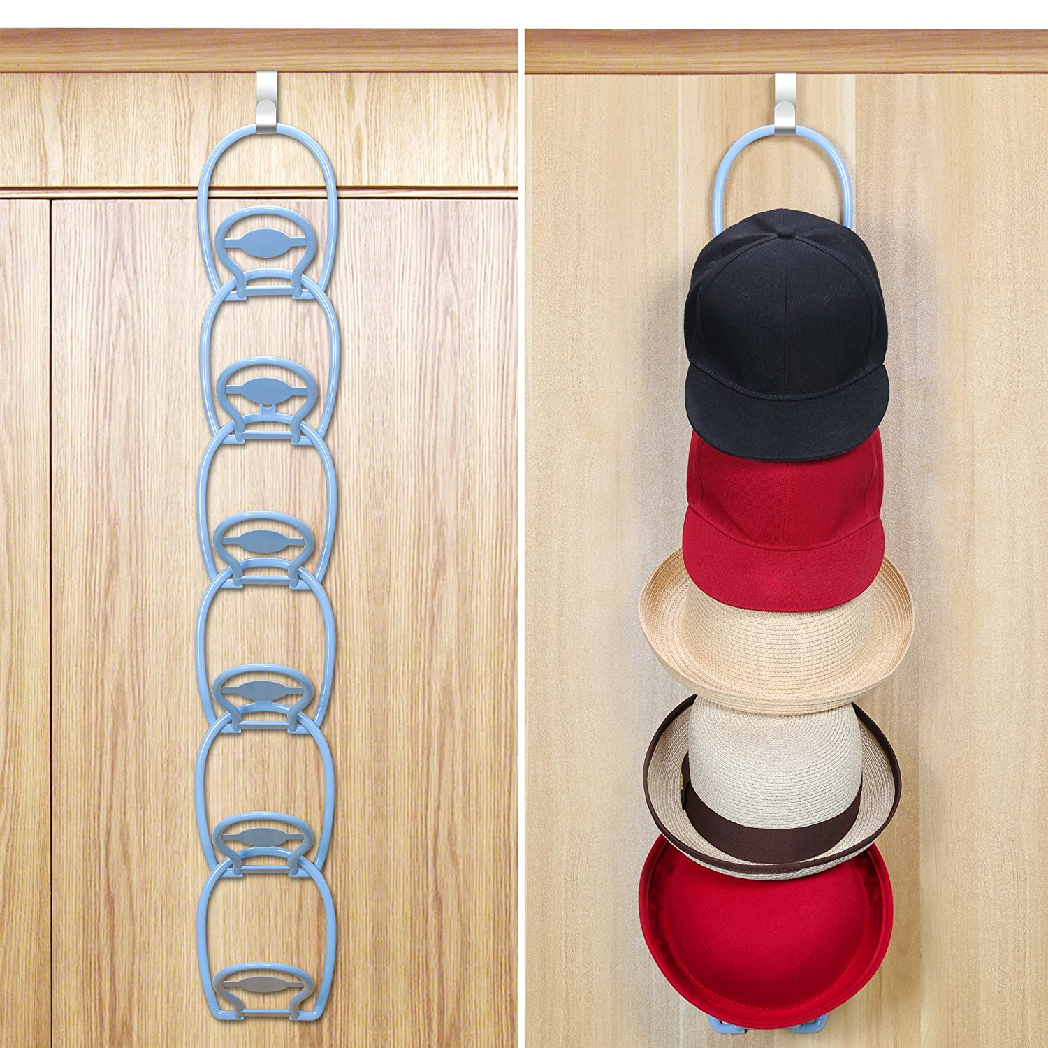 Hat Holders For Walls Faayfian Door And Wall Mounted Baseball Cap Hat Racks Holder