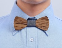 Handmade Customized Solid Wood Bow Tie Best Offer