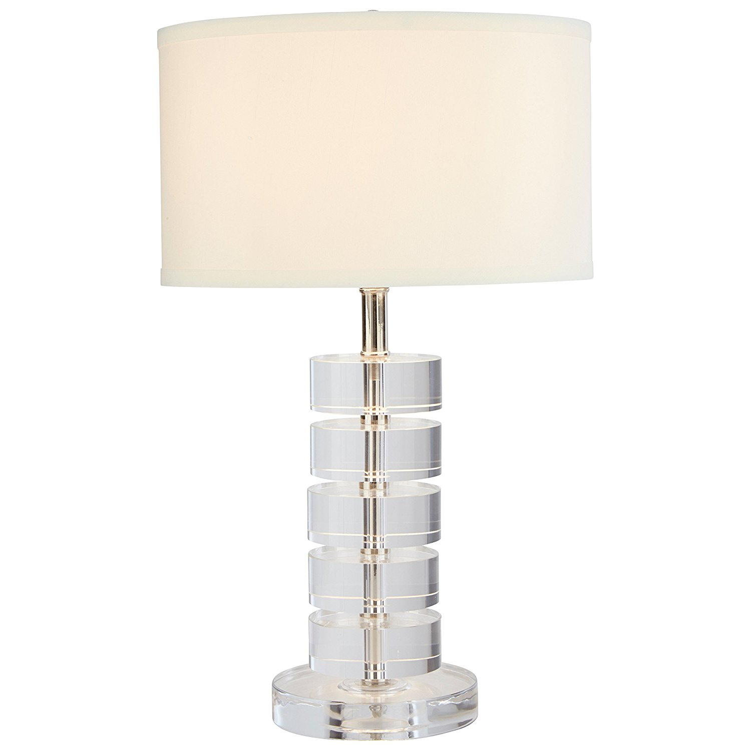 Crystal Stone Lamp Stone And Beam Modern Crystal Disc Table Lamp Best Offer