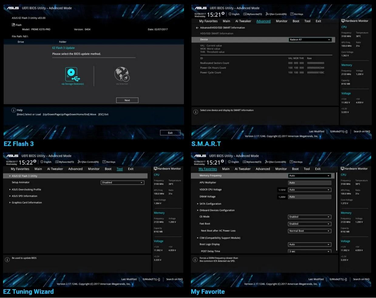 Asus Prime X370 Pro Inetse