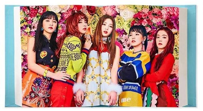 Red Velvet專輯《Rookie》團體概念照與專輯曲目表公開