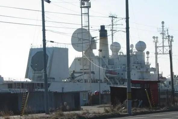 美國T-AGM 23「觀察島」號導彈測量船:滿載17015噸