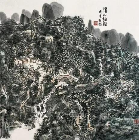 著名畫家龍瑞談文脈傳承