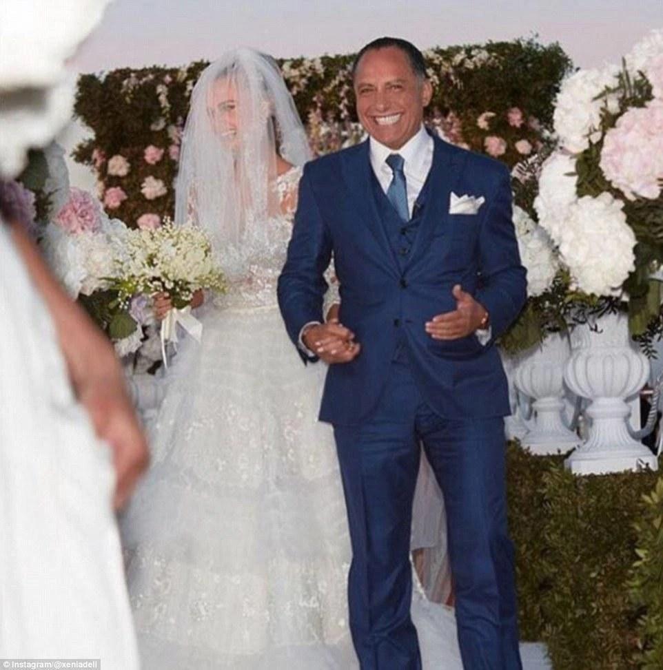 27歲靚麗超模嫁給63歲老頭,婚禮花費740萬