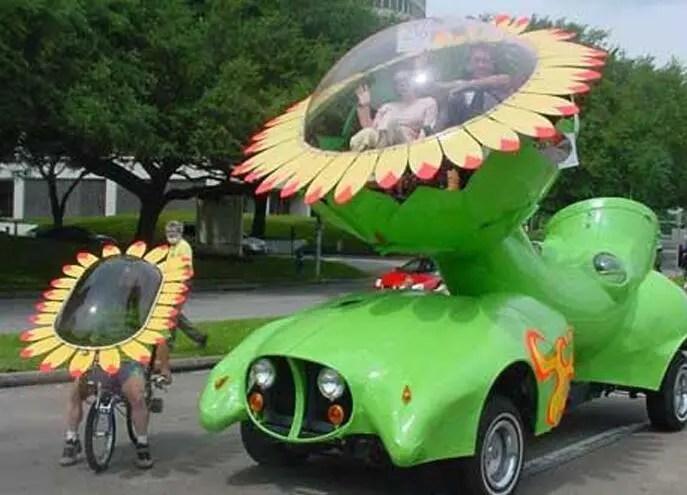 亮瞎眼!你見過這樣奇葩造型的汽車嗎?第三個簡直要上天