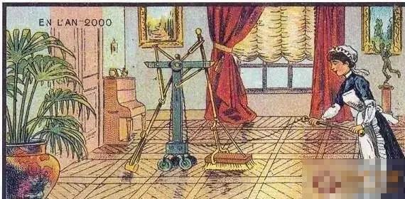 1800年對於未來的想像的樣子