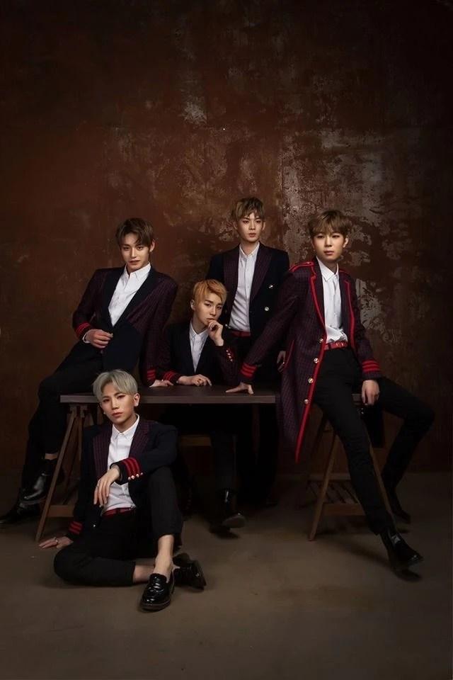 INX第二張單曲專輯《2GETHER》的團體概念照公開