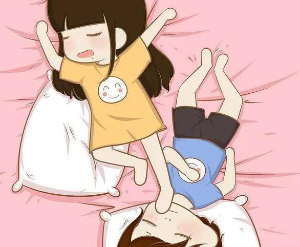 情侶的六種睡覺姿勢,你經歷過哪幾種?