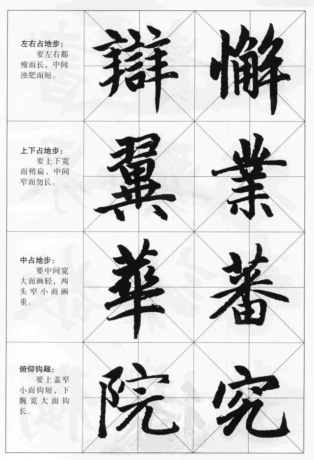 趙體行楷書法訣竅,讓你迅速學會...