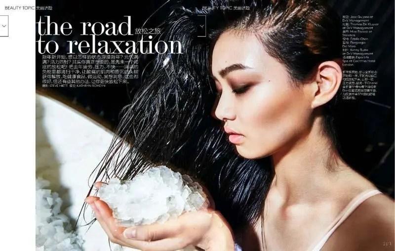 世界超模中最美的東方面孔,她是如春風一般的華裔女孩