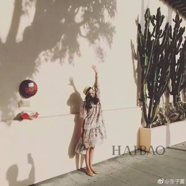 陳赫老婆張子萱孕照首曝光,可我只想問她的肚子呢?