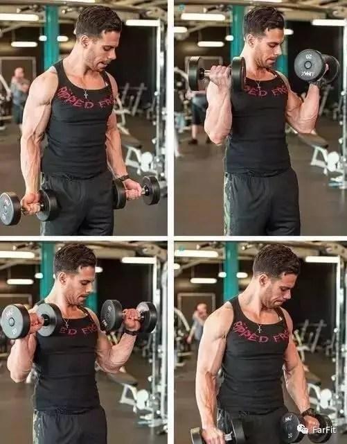 手臂訓練的變式,5個動作重新獲得肌肉泵感提高刺激效果!