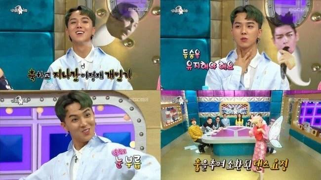 《黃金漁場-Radio Star》WINNER宋旻浩完美模仿T.O.P
