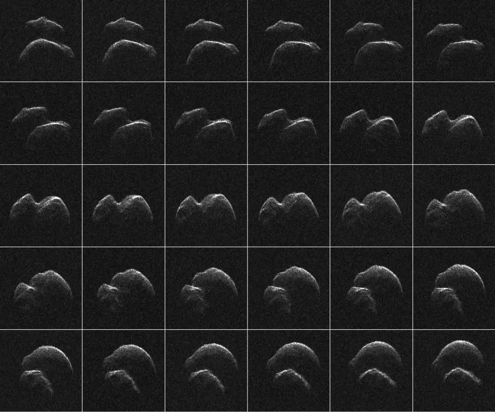 一顆大小約610米的小行星2014 JO25剛剛安全掠過地球