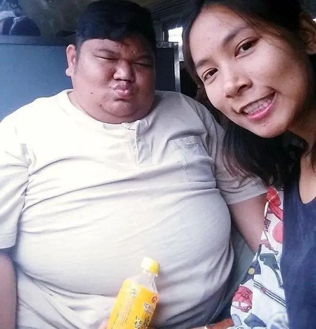 美少女和240斤的肥胖男子結婚,被稱為現實版的「美女與野獸」