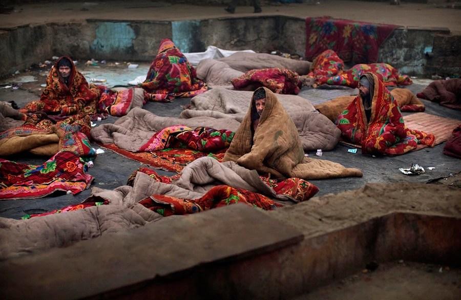 實拍印度貧民的生活簡直就是髒亂差