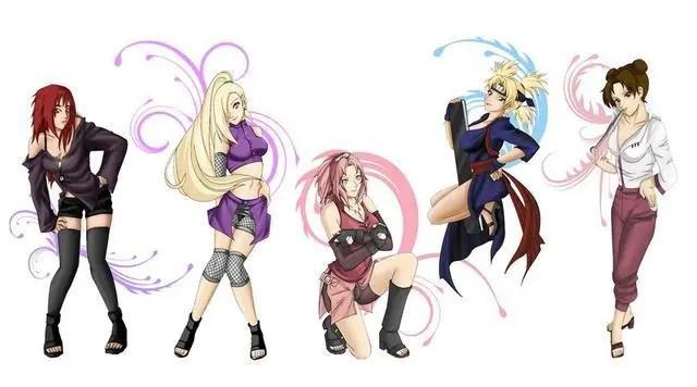 《火影忍者》六位美少女忍者,角色雛田最美