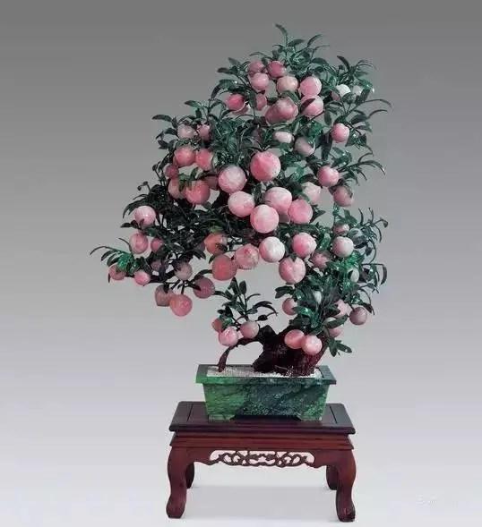 寓意吉祥的水果盆景,喜氣!