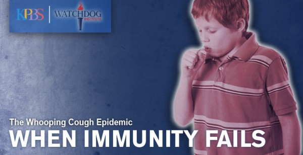 Many whooping cough victims have been immunized