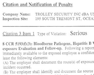 OSHA violation 2
